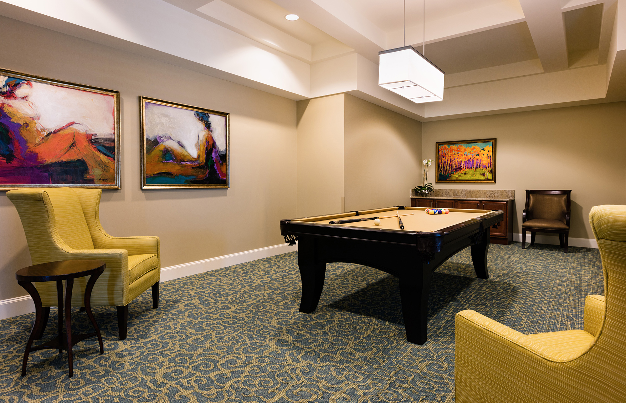 HarborChase of Plano Billiard Room
