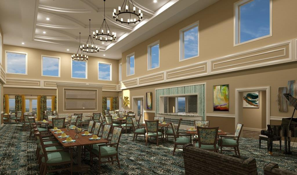 HarborChase of Palm Beach Gardens - 3000 Central Gardens Circle - Grand Dining Room
