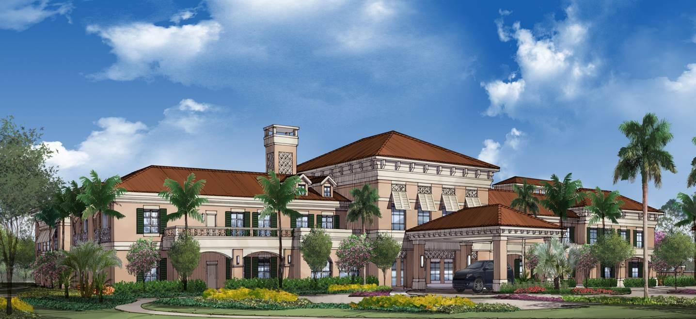 HarborChase of Palm Beach Gardens, Florida Entrance