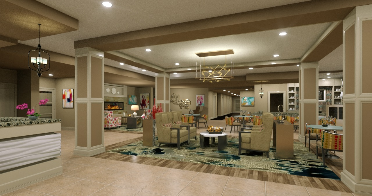 HarborChase of Palm Beach Gardens, Florida - Lobby