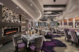 HCPC dinning areas rival top hotel restaurants.