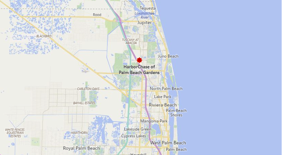 HarborChase of Palm Beach Gardens - 3000 Central Gardens Circle