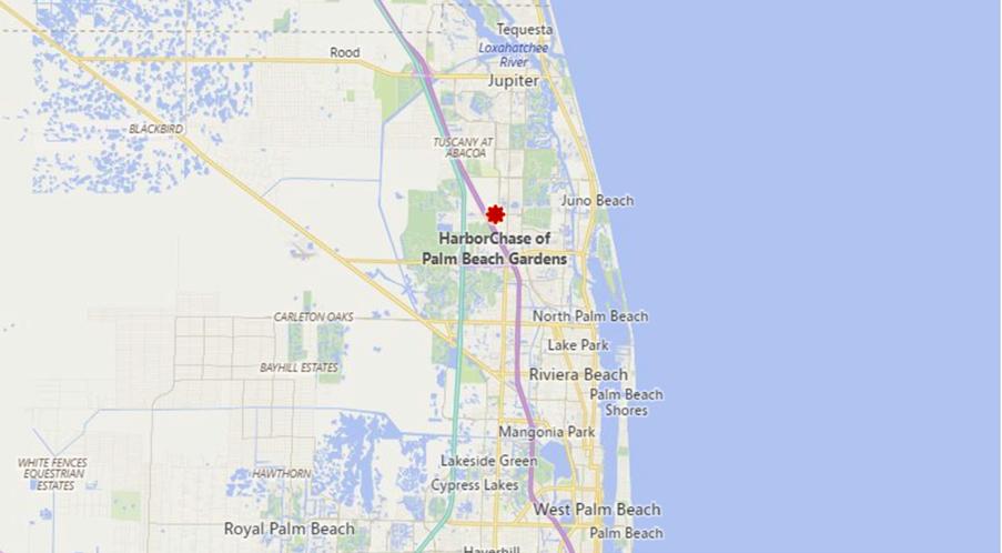 HarborChase of Palm Beach Gardens - 3000 Central Gardens Circle